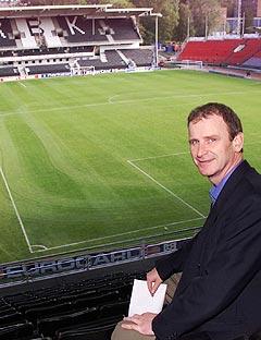 Rosenborg-direktør Nils Skutle lover at det skal bli mer liv på Lerkendal også utenom kampdagene. Her på stadion før det var ferdig ombygd. Foto: Gorm Kallestad, Scanpix.