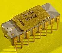 Den første mikroprosessoren (Foto: NRK)