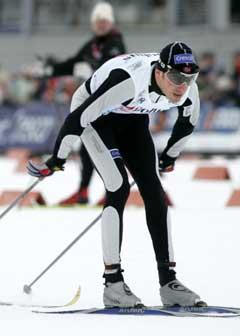 Anders Aukland vekslet som nummer fire. (Foto: Heiko Junge / SCANPIX)