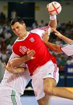 Petar Metlicic regnes som Kroatias beste spiller. (Foto: AFP/Scanpix)