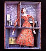 Akin Düzakins illustrasjon til Et Dukkehjem.