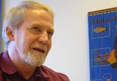 Rektor Jan Inge Nordeng ved Nord-Østerdal videregående skole. (Foto: Joar Elgåen/NRK)