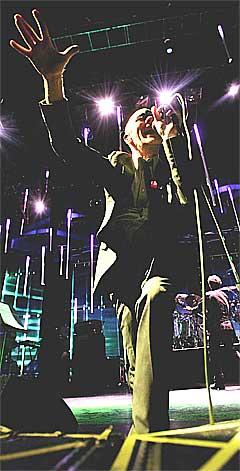 Stipe sang på rutine. Foto: Ørn E. Borgen, Scanpix.