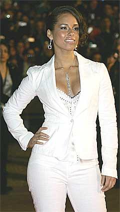 Alicia Keys blir det største navnet på konserten i Bangkok. Foto: Scanpix.