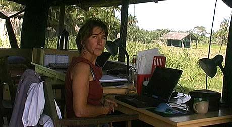 Joyce Poole har forska på elefantar i Kenya i 30 år (Foto: Privat)