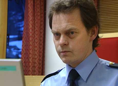 Politibetjent Gunnar Englund. Foto Inge Skavøypoll NRK