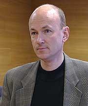 Trond Aarre, spesialist i psykiatri i tingretten. Foto: Inge Skavøypoll, NRK