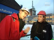 SVs energipolitisk talsmann besøkte nylig Hydro med gass som tema.