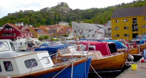 Halden kommunes budsjett var ikke lovlig på grunn av at inntektene fra småbåthavna gikk rett til kommunebudsjettet. Foto: Rainer Prang, NRK.