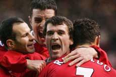Roy Keane har på sitt beste vært Manchester Uniteds beste spillere (Foto: Scanpix)