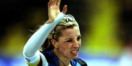 Anni Friesinger var overlegen i VM og vant alle fire distanser. (Foto: Reuters)