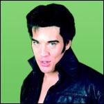 Før: Kjell som den unge Elvis.