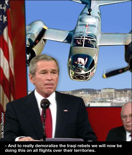 In his speech, Bush explained his new plan for Iraq. (Alltid Moro)
