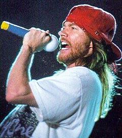 Vokalist Axl Rose er eneste gjennværende medlem av originalbesetningen i Guns n'Roses. Foto: Promo.