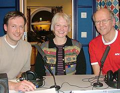 Haugesund: Arnstein Olaisen, Randi Ofstad, Paal Thorkildsen. Foto: Gisle Jørgensen.