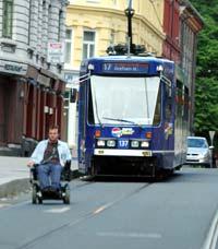 Trening ute i det fri kan være begrenset for rullestolbrukere, men det finnes mange andre gode treningstips! Foto: Scanpix