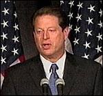 Al Gore vil ha en nøyaktig opptelling av stemmene i Florida (foto: EBU).