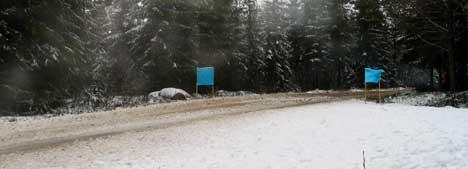 Litt grus, men mye snø i løypene torsdag.