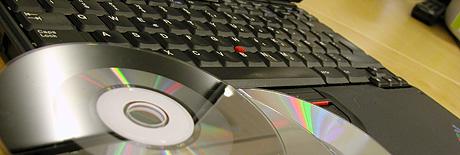 Forslaget til ny åndsverklov vil hindre folk i å kopiere CD-plater med kopisperre over på PC-en. Foto: Jørn Gjersøe.