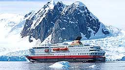Suksess: MS Nord-Norge i Antarktis