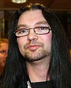 Alf Helge Lund var totalt overrasket over at bandet hans, Lumsk, vant by:Larm-stipendet 2005. Foto: Arne Kristian Gansmo, NRK.
