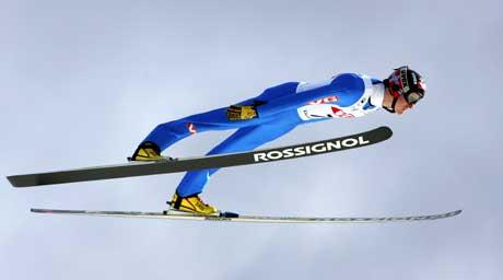 Tommy Ingebrigtsens 7. plass i NM i stor bakke på Lillehammer holdt ikke til VM-plass. (Foto: Erlend Aas / SCANPIX)