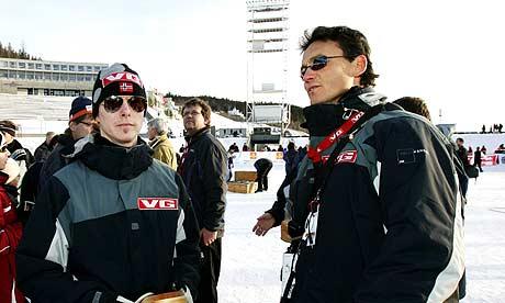 Tommy Ingebrigtsen får beskjed av Mika Kojonkoski om at det ikke blir VM-tur (Foto: Scanpix/Erlend Aas)
