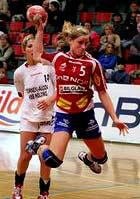 Gøril Snorroeggen ble toppscorer (Foto: Andreas Wivestad/Byåsen håndball