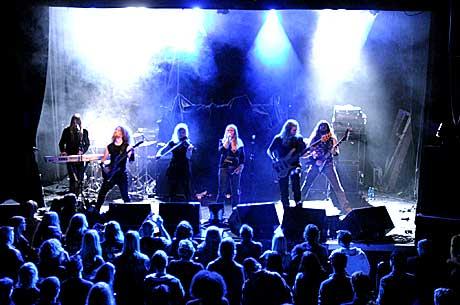 Lumsk spilte på Folken etter at de hadde mottatt by:Larm-prisen 2005. Foto: Arne Kristian Gansmo, NRK.