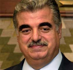 Tidligere statsminister Rafik Hariri ble drept i et attentat i februar i år. (Foto: AP/Scanpix)