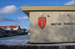 Frå Hustad fengsel. Foto: Gunnar Sandvik, NRK.
