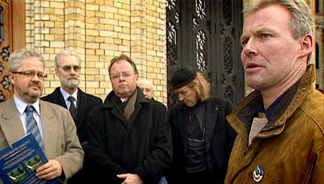 Jan Herstad fekk ikkje Stortinget til å snu. Foto Jon Petrusson NRK.