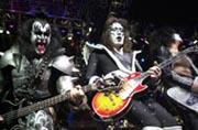 Kiss spilte flere ganger i Drammen.
