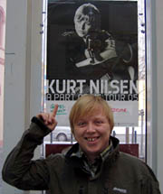 Kurt Nilsen i Drammens Teater. Foto: Svein Olav Tovsrud.