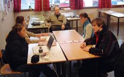 Mediaelever fra Alta videregående skole skal prøve ut ny mobilteknologi under Finnmarksløpet.