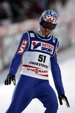 Bjørn Einar Romøren var fornøyd da han landet som nest best i kvalifiseringen. (Foto: Terje Bendiksby / SCANPIX)