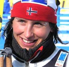 Marit Bjørgen har hatt presset på seg foran VM, men takler hun det ? (Foto: NRK.no)
