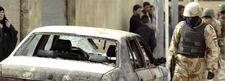 Sunnimuslimske selvmordsbombere, som nå i helgen, ønsker å provosere frem en borgerkrig. (Foto: Scanpix/AFP)