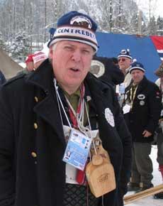 President i Saltnes turn og beksøm Terje Beck (Foto: NRK.no)