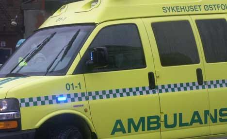 Assisterende ambulansesjef ved Sykehuset Østfold, Torer H. Frøyset, kaller episoden for et ubestridt brudd på rutiner. Ill. foto: Rainer Prang, NRK.