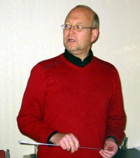 """Distriktsvegsjef Arild Evensen i Vestoppland har lite """"frie"""" midlar til disposisjon i år."""