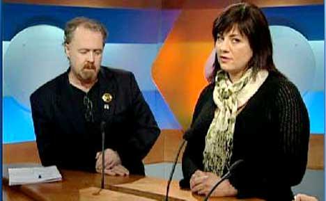 Debatten om hvor rockemuseet skal legges har tilspisset seg. Tom Skjeklesæther og Marianne Antonsen står på hver sin kant i debatten.