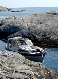 Hva en marin nasjonalpark vil innebære for fritidsbåtene rundt Koster er foreløpig uvisst. Foto: Rainer Prang, NRK
