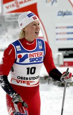 Guro Strøm Solli ble slått ut i VM-kvartfinalen i kvinnenes langrennssprint tirsdag. (Foto: Terje Bendiksby / SCANPIX)