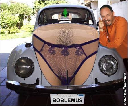 Rune Rudbergs bil. (Alltid Moro)