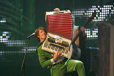 Odd Nordstoga kommer til Festspillene. Her under Nordic Music Awards i oktober 2004. Arkivfoto: Ørn E. Borgen / Scanpix