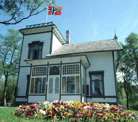 Edvard Griegs hjem Troldhaugen blir som vanlig arena for konserter under Festspillene. Foto: Vidar Knai, NTB arkiv