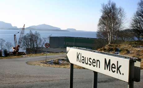Klausen Mekaniske i Holmedal foto Cosmin Cosma NRK