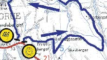 Nesten 22 mil med spesialstrekker venter deltakerne i Rally Finnskog