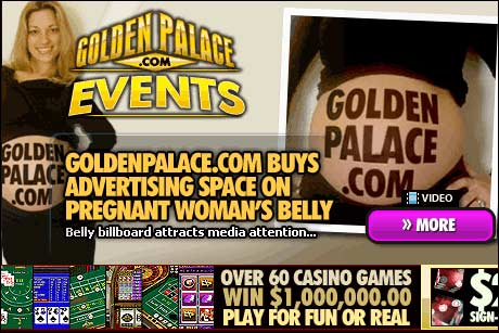 Fra nettstedet til Golden Palace Casino.